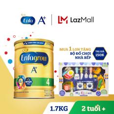 Sữa bột Enfagrow 4 cho trẻ trên 2 tuổi 1.7kg + Tặng 1 bộ đồ chơi nhà bếp trị giá 150k