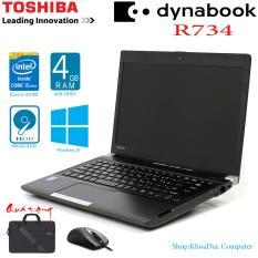 Laptop Nhật Bản Toshiba Dynabook R734 Core I5-4310M, 4GB Ram, 500gb HDD, Siêu Bền