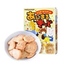 [9/2021] Bánh ăn dặm hình thú Matsunaga 35gr Nhật Bản