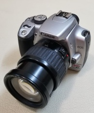 Canon 400d + lens