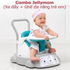Combo xe đẩy và ghế đa năng trẻ em Jellymom (Màu ngẫu nhiên)