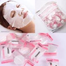 Combo 10 viên mặt nạ giấy nén Miniso Nhật Bản