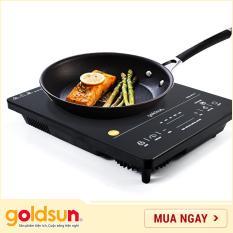 Bếp hồng ngoại Goldsun GIFR-T11 – Mặt kính cường lực cảm ứng – Công suất 2000W, điện áp 220 – 240 V / 50 – 60 Hz, không kén nồi