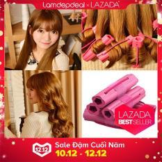 [FS 99K+MÃ GG] Combo 6 lô uốn tóc NIGHT SET CURLER – Tạo kiểu tóc xoăn siêu nhanh siêu tự nhiên cho bạn gái