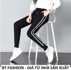 Quần Dài Nữ Thun Phom Rộng Jogger Thể Thao Thời Trang Hàn Quốc – BT Fashion (TT03A-2S SOLE)