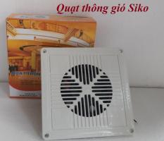 Quạt hút thông gió âm trần Siko 1 chiềucó mặt trước làm bằng lưới che trang trí VÀ chắn bụi