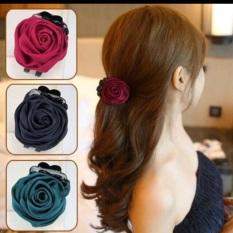 K12 – Kẹp tóc hoa hồng xinh xắn dành cho nữ