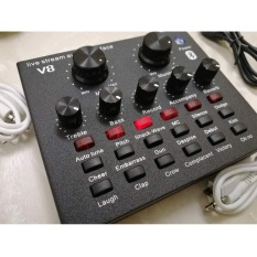 Sound card V8 có Auto Tone dành cho micro thu âm