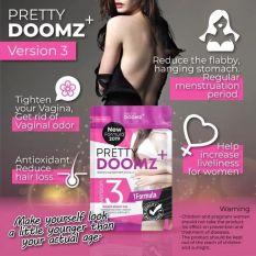 Viên uống nở ngực chăm sóc vùng kín Pretty Doomz Plus