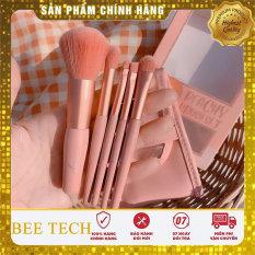 Bộ cọ trang điểm Thái Lan Ashley Peachy Brush Set 5 cây tone Cam đào-Beetech