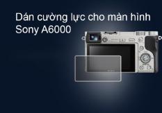 Miếng dán cường lực màn hình cho máy ảnh sony A5000/A6000/A6300/A6400