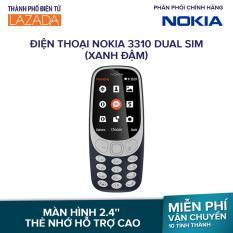 Điện thoại Nokia 3310 Dual sim – Màu Xanh Đậm
