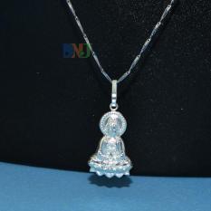 Mặt dây chuyền Phật bạc s925