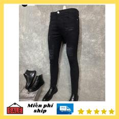 Quần jean nam chất bò cao cấp TM-ms 55-màu đen-giống hình giống mẫu–phong cách hàn quốc
