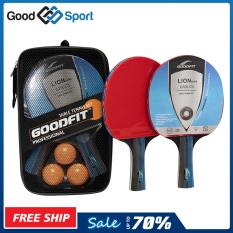 Bộ 2 vợt bóng bàn tặng kèm 3 bóng GF001TS