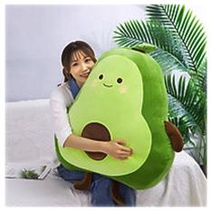 Gấu bông hình quả bơ XiTicute dùng để làm gối ôm, quà tặng người thương, đồ chơi cho bé hoặc vật trang trí trong nhà