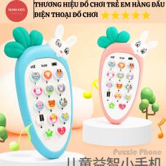Điện thoại đồ chơi cà rốt thông minh đồ chơi điện thoại phát triển trí tuệ cho trẻ em