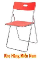 Ghế gấp INOX – Ghế xếp ngoài trời – Ghế phòng khách cao cấp giá rẻ Xuân Hòa GI 22-00 CAM