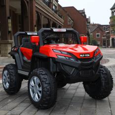 Xe ô tô điện trẻ em thể thao địa hình BLF-119A dành cho bé 1-7 tuổi gồm chế độ tự lái và điều khiển từ xa, có bập bênh ( 2 động cơ, ắc quy 6V4.5A*2)