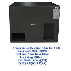 Loa sub điện 4 tấc karaoke hỗ trợ cho dàn âm thanh