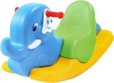 đồ chơi cho bé bập bênh voi đơn