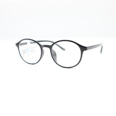 Kính cận thời trang Wide Vision 6013 từ -0.50 đến – 8.00 độ màu đen bóng- kính đã có độ