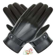 Bao tay nam, Găng tay nam da chống nước giữ ấm mùa đông, Thiết kế cảm ứng điện thoại CCT01