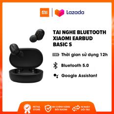 Tai nghe Bluetooth Xiaomi True Wireless Earbuds Basic S – Driver 7.2mm | Bluetooth 5.0 | Xem phim và chơi game suốt 15 giờ – Trả góp 0%