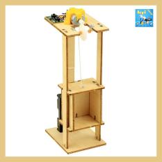 Mô hình thang máy DIY – Đồ chơi thông minh – Đồ chơi khoa học – Đồ chơi mô phỏng – Đồ chơi STEAM – Đồ chơi lắp ráp – Đồ Chơi DOPI – Thí Nghiệm Khoa Học