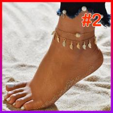 Vòng tay/Lắc chân Cỏ 4 lá MAY MẮN kèm chuông – NHShop