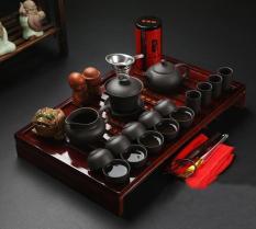 Bộ ấm trà sứ cao cấp, có khay đựng phong cách nhật bản – Home and Garden