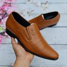 Giày tây tăng chiều cao 6-7cm, da mềm cao cấp, đế cao su chống trơn nguyên tấm, hàng cao cấp