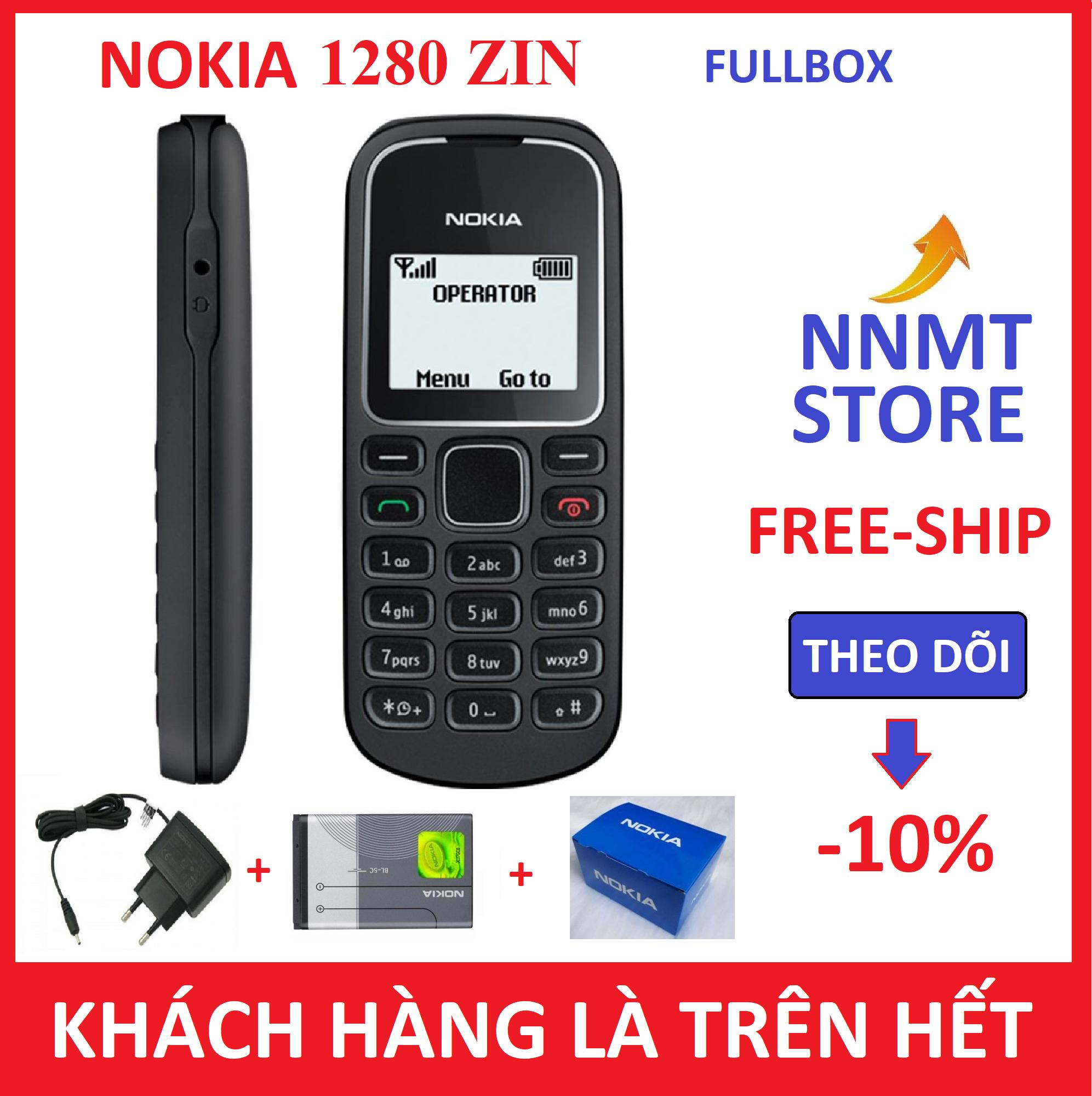 Điện thoại Nokia 1280 – (Máy pin sạc) – Siêu rẻ siêu bền – Giá rẻ nhât – NNMT STORE