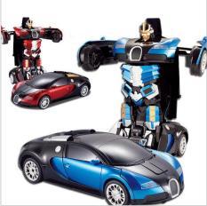 Đồ chơi ô tô biến hình rô bốt siêu chất cho bé