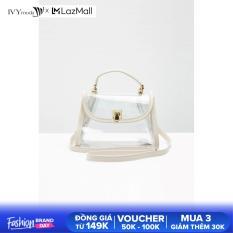 Túi xách trong suốt bé gái thiết kế IVY moda MS 51G0836