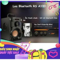 Loa Karaoke, Loa May Tinh Hay, Loa Bluetooth RS A100, Hệ Thống 3 Loa Kép Âm Bass Chuẩn – Điều Khiển Từ Xa Hỗ Trợ FM Radio – Top 10 Loa Bán Chạy.