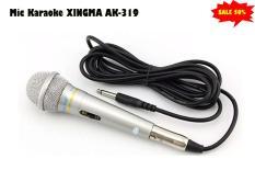 Micro Hát Karaoke XINGMA AK-319.Míc Kraoke Có Dây Đầu Micro Có Bông Lọc Chống Hơi âm Và Lưới Thép Bảo Vệ.chống hú, chống ù từ âm treble, bass của dàn karaoke gia đình.Uy Tín Và Chất Lượng BH 1 Đổi 1