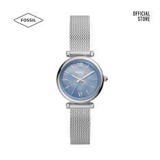 Đồng hồ nữ Fossil Carlie Mini ES5083 dây thép không gỉ – màu bạc