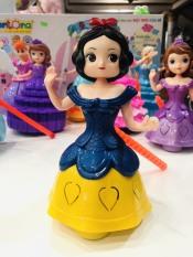 Đèn lồng trung thu [HÓT SALE] Công chúa Bạch tuyết xinh xắn, tặng kèm pin, hết mùa có thể tháo cán để làm đồ chơi