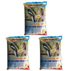 Combo 3 Gói Thức Ăn Chim Chích Chòe Anh Thông (Viên) 150g – Cám Chim Chích Chòe