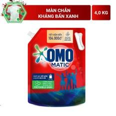 Nước giặt Omo matic Cửa trên 4kg đỏ Túi – cam kết hàng đúng mô tả sản xuất theo công nghệ hiện đại an toàn cho người sử dụng