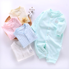 Body liền thân dài tay cotton cho bé sơ sinh hàng đẹp xuất hàn được làm hoàn toàn bằng chất liệu vải cotton cao cấp mềm mại thiết kế tinh tế màu sắc cuốn hút