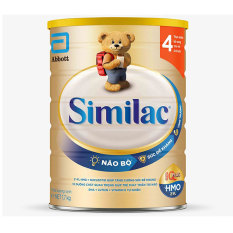 Sữa Bột Similac IQ Plus HMO 4 Lon 1.7kg (bé trên 2 tuổi) – HSD luôn mới