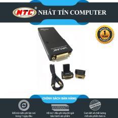Bộ chuyển đổi MINI USB 2.0 sang DVI + HDMI + VGA Wavlink WS-UG 19D1 (Đen)
