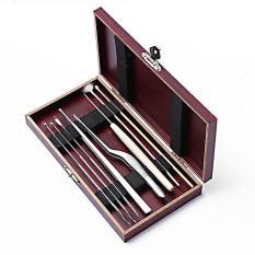 Bộ dụng cụ lấy ráy tai hộp gỗ