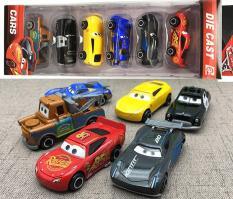 Bộ đồ chơi trẻ em Set 6 xe mô hình bằng Hợp Kim MC Queen