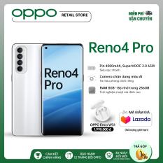 MỚI RA MẮT Điện thoại OPPO Reno 4 Pro (8GB/256GB) – Tặng ngay Tai nghe Enco W31 3 triệu – Hàng chính hãng bảo hàng 12 tháng