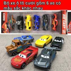 Bộ 6 xe mô hình ô tô MCQueen bằng sắt