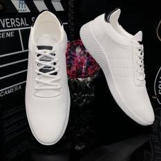 Giày thể thao nam sneaker da nhập Poly Synthetic cao cấp LC06(video thật 100%)
