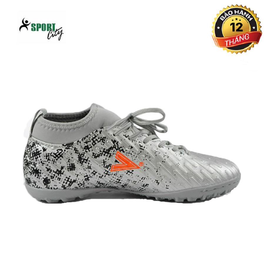 Giày đá bóng, giày đá banh, giày bóng đá, giày thể thao MITRE 170501 màu bạc đẳng cấp sân cỏ, chắc chắn và ôm chân, giảm tối đa chấn thương dành cho nam